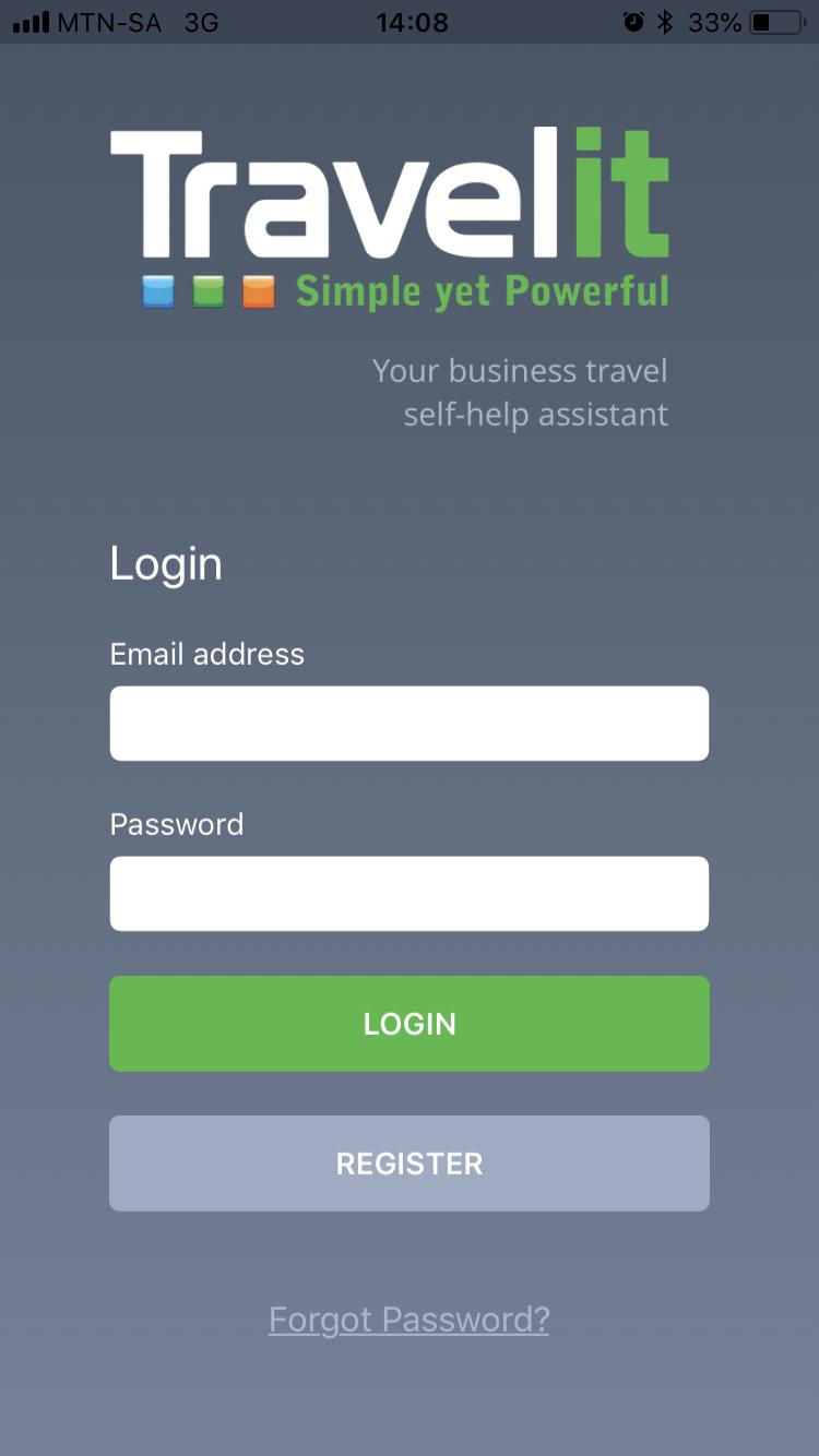 Travelit login